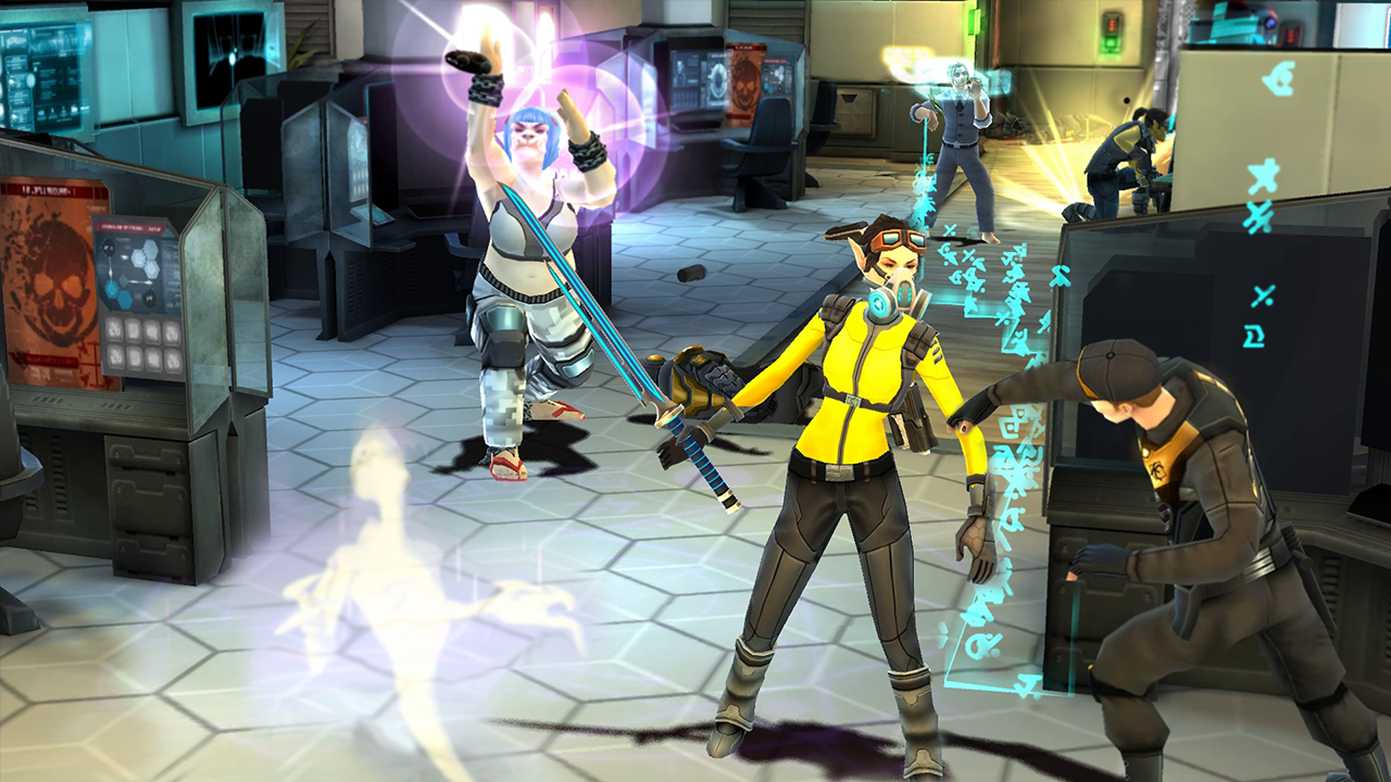 Shadowrun Chronicles Screenshot